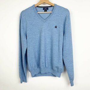 Mens Brooks Brothers 346 V-Neck Sweater Pullover